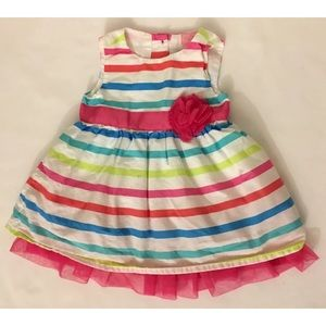 Made With Love By Place Girls   Dress 0-3 Months